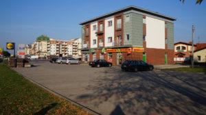 Leszno ul. Mickiewicza 3 - budynek handlowo-usługowo-mieszkalny
