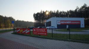 Leszno ul. Geodetów - budynek handlowo-usługowy
