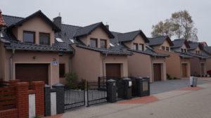 Leszno ul. Hiszpańska - 1 etap - domy w zabudowie szeregowej