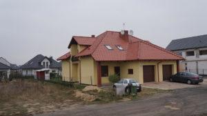 Leszno os. Grzybowo - domy w zabudowie bliźniaczej