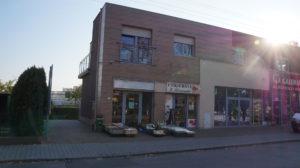 Leszno ul. 21 Października - budynek usługowo-mieszkalny